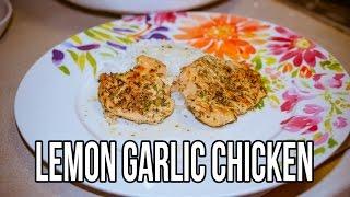 Lemon Garlic Chicken Dinner (crockpot)
