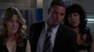 Izzie Finding out Denny died.
