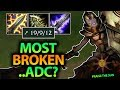 IS THIS THE MOST BROKEN TROLL PICK I VE EVER DONE LEONA ADC SEASON 7 League Of Legends mp3