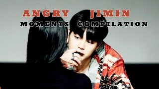 [COMPILATION part 2] How BTS Jimin acts when he's angry or mad?