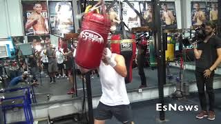 Jose Ramirez Looking To Ko O' Connor In Fresno EsNews Boxing