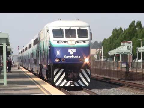 3:38 PM Sounder train