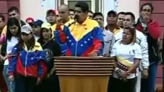 INCREIBLE VIDEO: LA NUEVA CAGADA DE NICOLAS MADURO