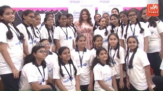 Shikha Talsania At The Dove Self-Esteem Project Workshop | Universal School In Mumbai | YOYO Times