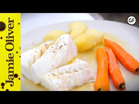 Fresh Poached Cod With Buttered Veg | Bart's Fish Tales