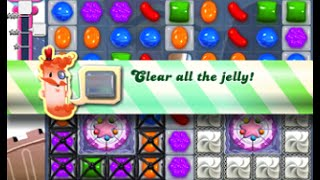 Candy Crush Saga Level 381 walkthrough (no boosters)
