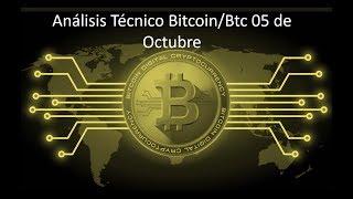 Análisis Diario bitcoin/btc 05 de octubre - ¿Subirá Bitcoin?