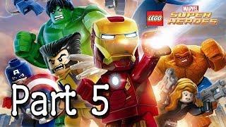 LEGO: Marvel Super Heroes - Wolverine (Ryker's Island) - Part 5