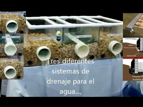 Draining Drenaje De Agua Youtube