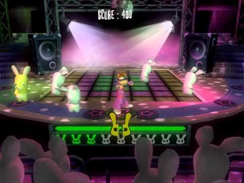 Rayman Raving Rabbids dance disco
