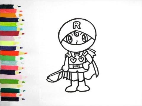 アンパンマンイラスト 描けたらうれしいロールパンナの描き方 How To