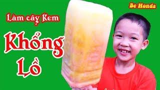 Giant Ice Cream - Kem khổng lồ, Làm Cây Kem khổng lồ to bằng cả Cái Đầu