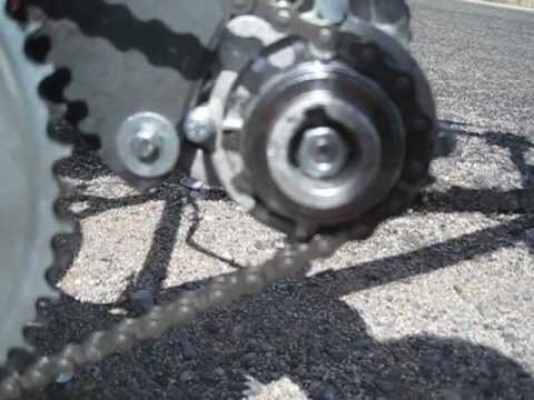 Homemade BB Drive Electric Bicycle