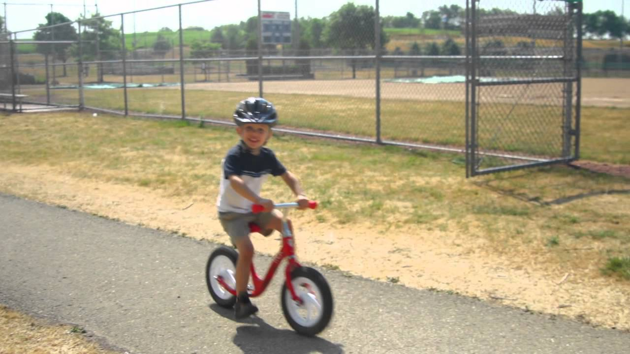 The Trek Kickster Balance Bike Youtube