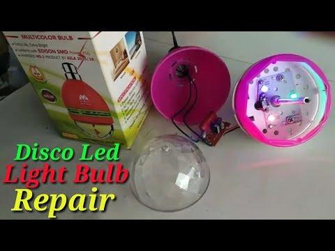 Disco Led Light Bulb Repair