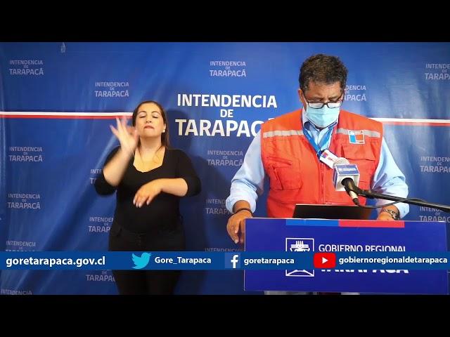 Punto de prensa 05 de marzo de 2021 - GORE Tarapacá