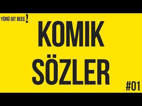 KOMIK SÖZLER VE ESPIRILER | SESLI #01