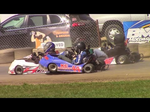 Senior Light Flathead Feature | Eriez Speedway | 9-23-17