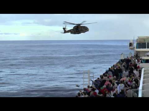 Emergency at Sea. Medical Evacuation from a Cruise Ship