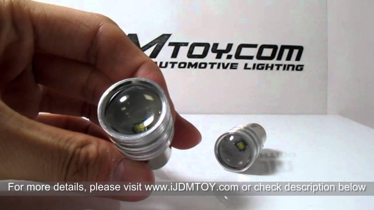 5w High Power 1156 7506 P21w Led Bulbs On 2009 Mercedes