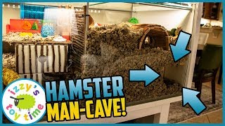 HAMSTER MAN-CAVE! THE HAMCAVE.