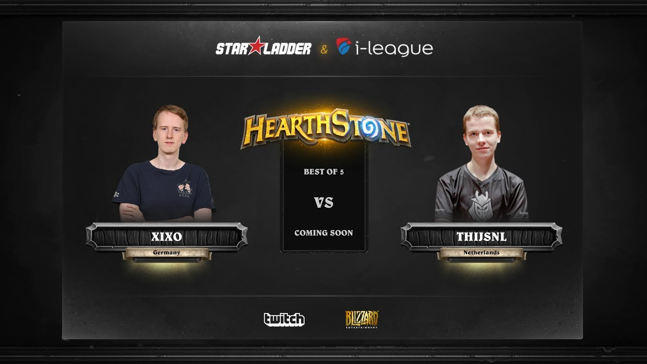 [EN] Xixo vs ThijsNL | SL i-League Hearthstone StarSeries Season 3 (29.05.2017)