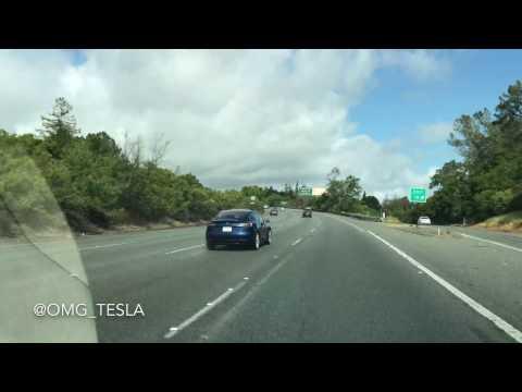 Tesla Model 3 Spotted Testing