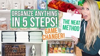 Gambar cover How to Organize ANYTHING in 5 Steps: The NEAT Method