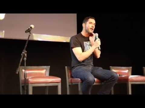 Tom Ellis talks about his sister