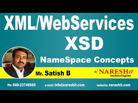 XSD NameSpace Concepts | XML Tutorial | Mr. Sarish B