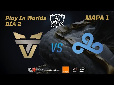 TEAM ONE ESPORTS VS CLOUD 9 - LOL WORLDS 2017 - DÍA 2 - PLAY IN