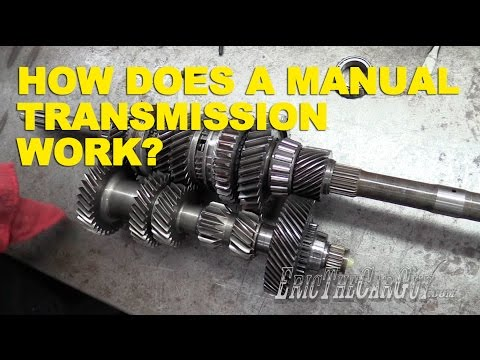 How Does a Manual Transmission Work? -EricTheCarGuy