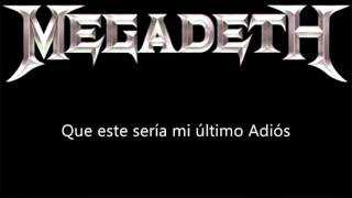 Megadeth   1000 Times GoodBye Subtitulado Al Español