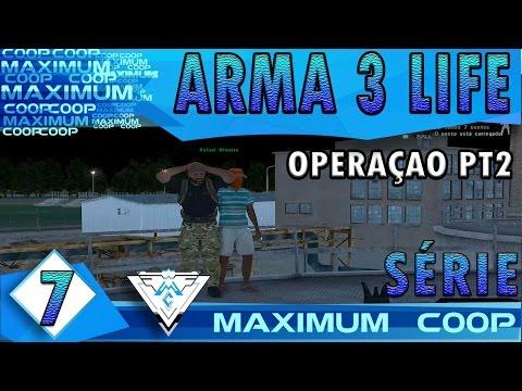 ARMA 3 AUSTRALIA LIFE COOP #7 - OPERAÇÃO ROUBA CARROS PT.2! / Gameplay 1080p  PT-BR