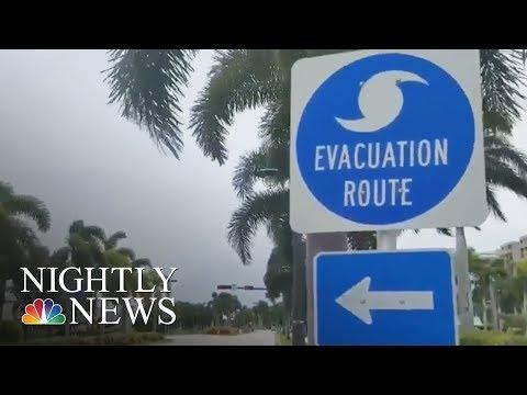 Hurricane Irma: Florida's West Coast Braces For Impact As Storm Shifts West | NBC Nightly News