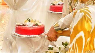 Uygur wedding, cake, свадьба Имрана Бахтияра и Миланы