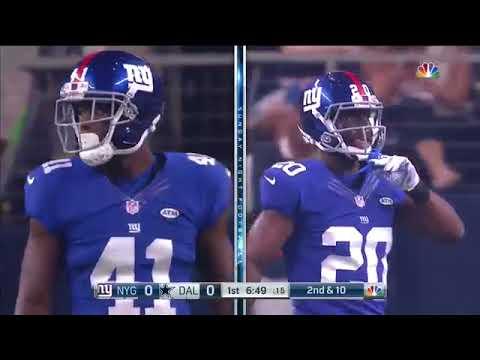 2015 - Giants @ Cowboys Week 1 SNF