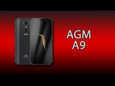 AGM A9 - крутейший защищённый смартфон с 4 динамиками
