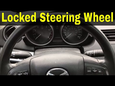 How To Fix A Locked Steering Wheel-Tutorial