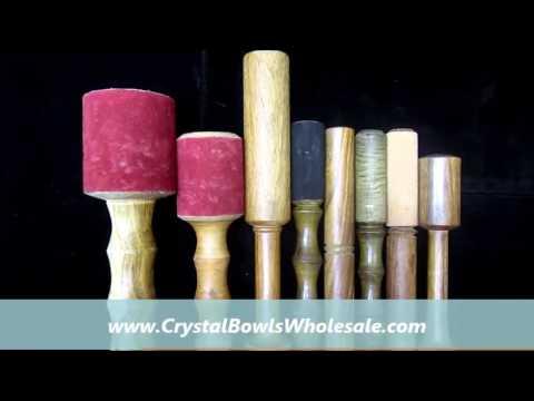 Strikers or Mallets for Antique Tibetan Bowls | CrystalBowlsWholesale.com