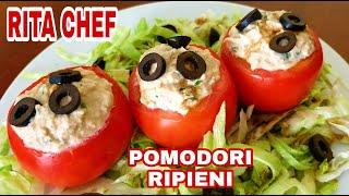 Pomodori Ripieni Di Salsa Al Tonno Senza Cottura Di Rita Chef.