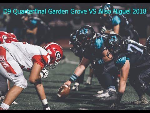 CIF D9 Quarterfinal Garden Grove Argonauts VS Aliso Niguel Wolverines High School Football 2018 HD
