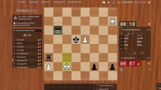 Катка на lichess.org#37 Шахматы 22.12.2016