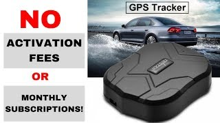 5 Best Car GPS Tracker No Monthly Fee