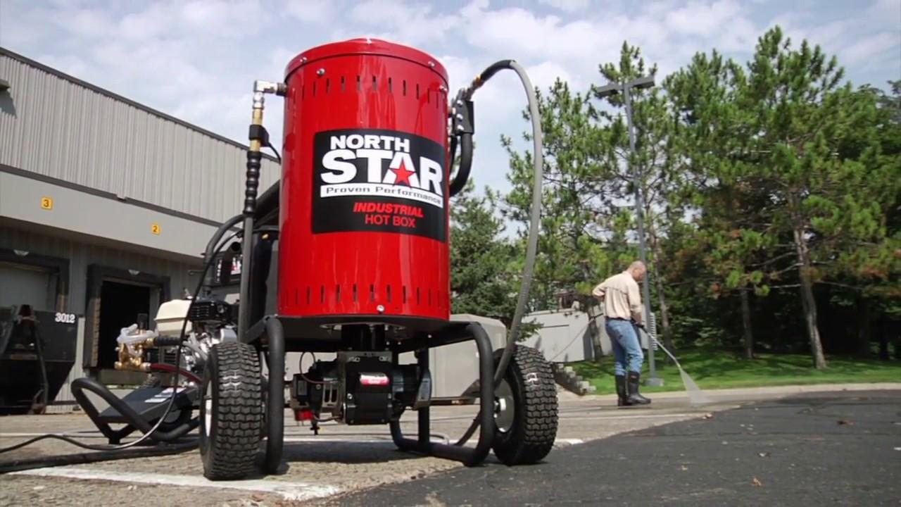 northstar pressure washer heater steamer add on unit 4000 psi 4 gpm 120 volt [ 1280 x 720 Pixel ]