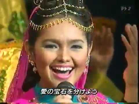 Siti Nurhaliza  Balqis on Japanese music TV program  Asia music festival 2001