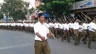 RSS padha sanchalan at Hyderabad (Vijayadasami Celebrations)