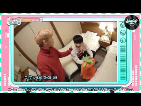 [SUB ESP] 170331 Woozi & Jun TV - Seventeen One Fine Day in Japan special video ep 12