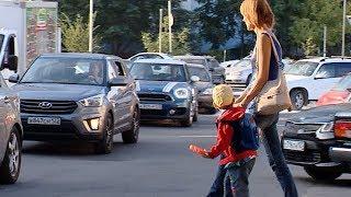 Огромные пробки заблокировали микрорайон в Краснодаре