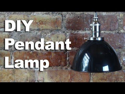DIY Pendant Light How To - GardenFork Sponsored Video